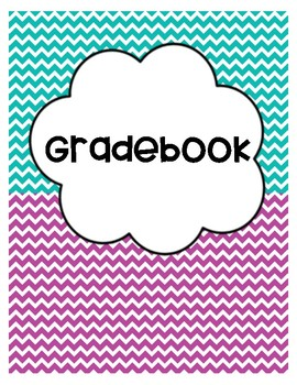 Binder Covers - Turquoise & Purple