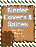 Binder Covers (Woodland Theme)