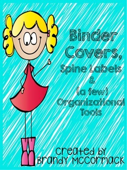 Binder Covers and Organizational Tools