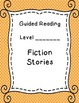 Binder Covers and Spine Labels for Guided Reading Resources