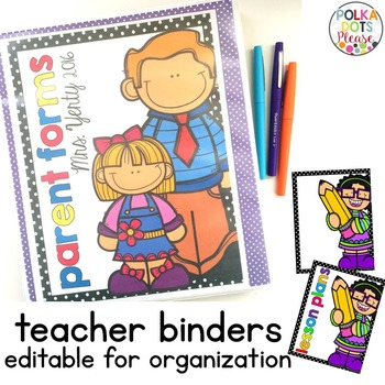 Binder Covers and Spines (ALL editable)