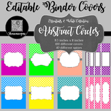 Binder/Document Covers & Spines - Essentials & White: Abst