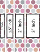 Binder Covers and Spines - Afternoon Tea | Editable PowerPoint