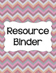 Binder/Document Covers & Spines - Multi-Color: Afternoon Tea