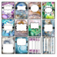 Binder Covers and Spines- Agate Classroom Decor