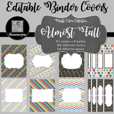Binder/Document Covers & Spines - Multi-Color: Almost Fall