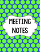 Binder/Document Covers & Spines - Dual-Color: April Showers
