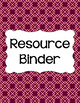 Binder Covers and Spines - Autumn Blush | Editable PowerPoint