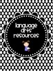 B/W Polka Dot Binder Covers and Spines (EDITABLE and UPDAT