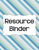 Binder Covers and Spines - Beach | Editable PowerPoint