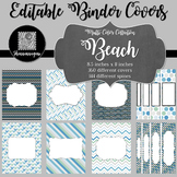 Binder/Document Covers & Spines - Multi-Color: Beach