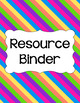 Binder Covers and Spines - Birthday Party | Editable PowerPoint