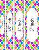 Binder/Document Covers & Spines - Multi-Color: Birthday Party