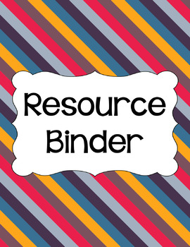 Binder Covers and Spines - Bonfire | Editable PowerPoint