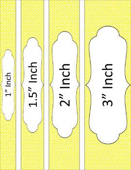 Binder/Document Covers & Spines - Essentials & White: Brick Path