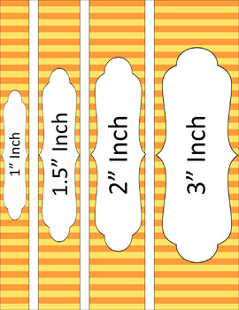Binder/Document Covers & Spines - Dual-Color: Citrus