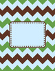 Binder Covers and Spines – Coordinates with Turtle Time Classroom Theme