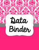 Binder Covers and Spines - Damask and White | Editable PowerPoint