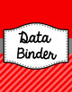 Binder Covers and Spines - Diagonal Stripes | Editable PowerPoint