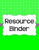 Binder Covers and Spines - Diamond | Editable PowerPoint