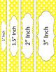 Binder/Document Covers & Spines - Essentials & White: Diamond Scallops