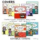 Binder Covers and Spines - EDITABLE