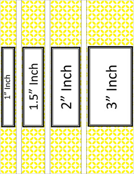 Binder/Document Covers & Spines - Essentials & White: Circle Flowers