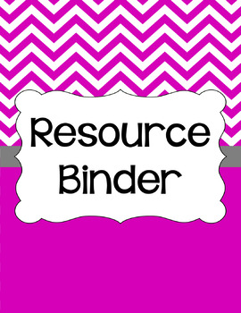 Binder/Document Covers & Spines - Essentials & White: Jumbo Chevron