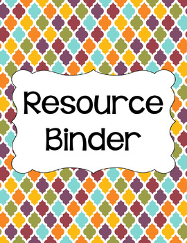 Binder/Document Covers & Spines - Multi-Color: Fair