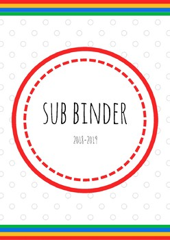 Binder Covers and Spines- GOOGLE THEME (2018-2019)