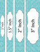 Binder/Document Covers & Spines - Essentials & White: Greek Key