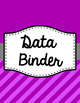 Binder Covers and Spines - Jumbo Diagonal Stripes | Editable PowerPoint