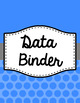 Binder Covers and Spines - Jumbo Polka Dots | Editable PowerPoint