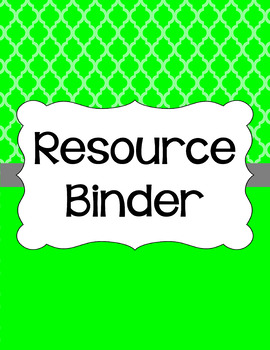 Binder Covers and Spines - Moroccan | Editable PowerPoint