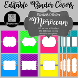 Binder/Document Covers & Spines - Essentials: Moroccan