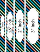 Binder/Document Covers & Spines - Multi-Color: Lazy Summer