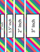 Binder/Document Covers & Spines - Multi-Color: May
