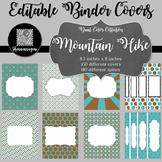 Binder/Document Covers & Spines - Dual-Color: Mountain Hike