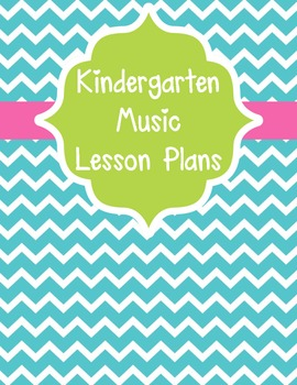 Binder Covers and Spines- Music Lesson Plans