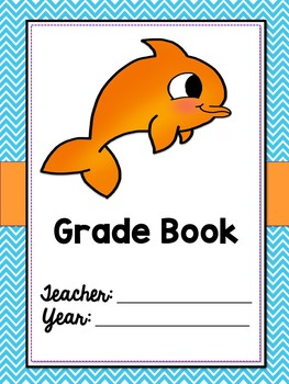 Binder Covers and Spines {Ocean Themed}