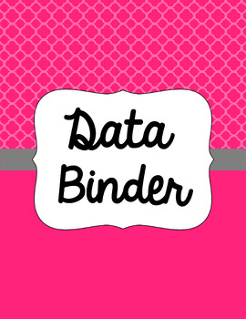 Binder Covers and Spines - Quatrefoil | Editable PowerPoint