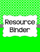 Binder Covers and Spines - Quatrefoil and White | Editable PowerPoint