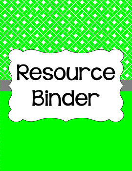 Binder Covers and Spines - Rectangles and White | Editable PowerPoint
