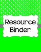 Binder/Document Covers & Spines - Essentials & White: Rectangles