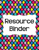 Binder Covers and Spines - Refresh | Editable PowerPoint