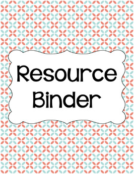 Binder/Document Covers & Spines - Dual-Color: Spring