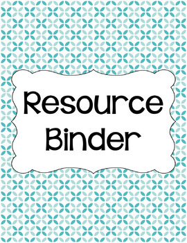 Binder Covers and Spines - Summer Sky | Editable PowerPoint