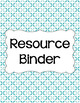 Binder/Document Covers & Spines - Dual-Color: Summer Sky