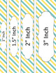 Binder/Document Covers & Spines - Dual-Color: Sunny Day