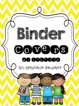 Binder Covers and inserts